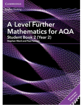 9781316644317, A Level Further Mathematics for AQA Student Book 2 (Year 2) with Cambridge Elevate Edition (2 Years) NEW 2019