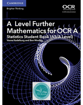 A Level Further Mathematics for OCR A Statistics Student Book (AS/A Level) (New 2017)