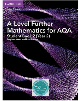 A/AS Level Further Maths for AQA Year 2 Further Pure Student Book (New 2017)