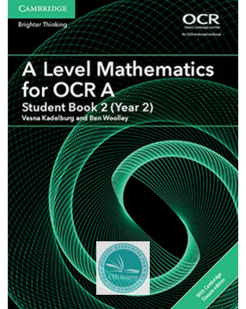 9781316644676, A/AS Level Mathematics for OCR Student Book Year 2 with Cambridge Elevate enhanced edition (2 Years) New 2018