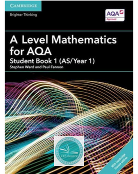 9781316644683, A Level Mathematics for AQA Student Book 1 (AS/Year 1) with Cambridge Elevate Edition (2 Years) New 2018