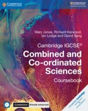9781316645901, Cambridge IGCSE® Combined and Co-ordinated Sciences Coursebook with CD-ROM and Cambridge Elevate Enhanced Edition (2 Years)