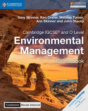 9781316646021, Cambridge IGCSE® and O Level Environmental Management Coursebook with Cambridge Elevate Enhanced Edition (2 Years) New 2018