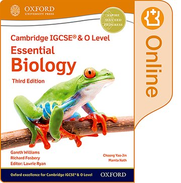 NEW Cambridge IGCSE & O Level Essential Biology: Enhanced Online Student Book (Third Edition)
