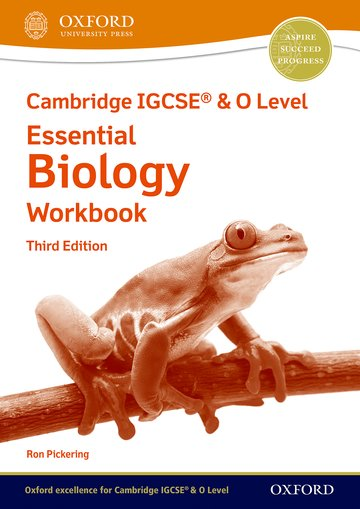 NEW Cambridge IGCSE & O Level Essential Biology: Workbook (Third Edition)