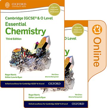 NEW Cambridge IGCSE & O Level Essential Chemistry: Print & Enhanced Online Student Book Pack (Third Edition)