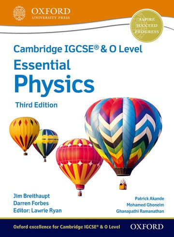 NEW Cambridge IGCSE & O Level Essential Physics: Student Book (Third Edition)