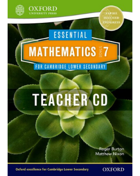9781408519820, Essential Mathematics for Cambridge Secondary 1 Stage 7 Teacher CD-ROM