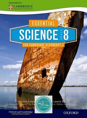 Essential Science for Cambridge Secondary 1 Stage 8 Student Book - CIE SOURCE