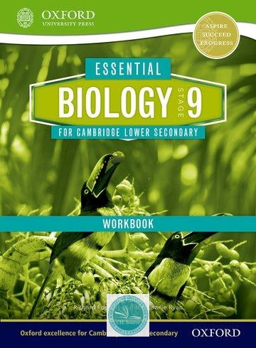 9781408520710, Essential Science for Cambridge Secondary 1 Stage 9 Biology Workbook
