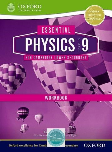 9781408520772, Essential Science for Cambridge Secondary 1 Stage 9 Physics Workbook