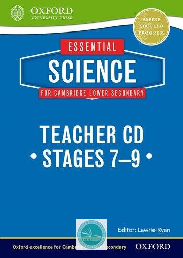 9781408520789, Essential Science for Cambridge Secondary 1 Teacher's CD