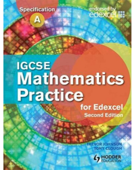9781444138245, IGCSE Mathematics for Edexcel Practice Book 2nd Edition
