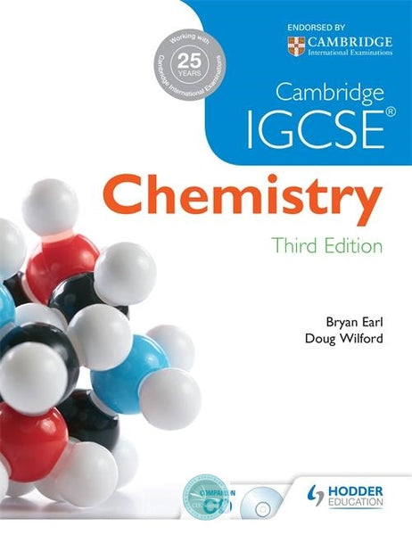 9781444176445, Cambridge IGCSE Chemistry 3rd Edition plus CD