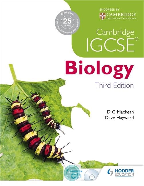 9781444176469, Cambridge IGCSE Biology 3rd Edition Illustrated Edition