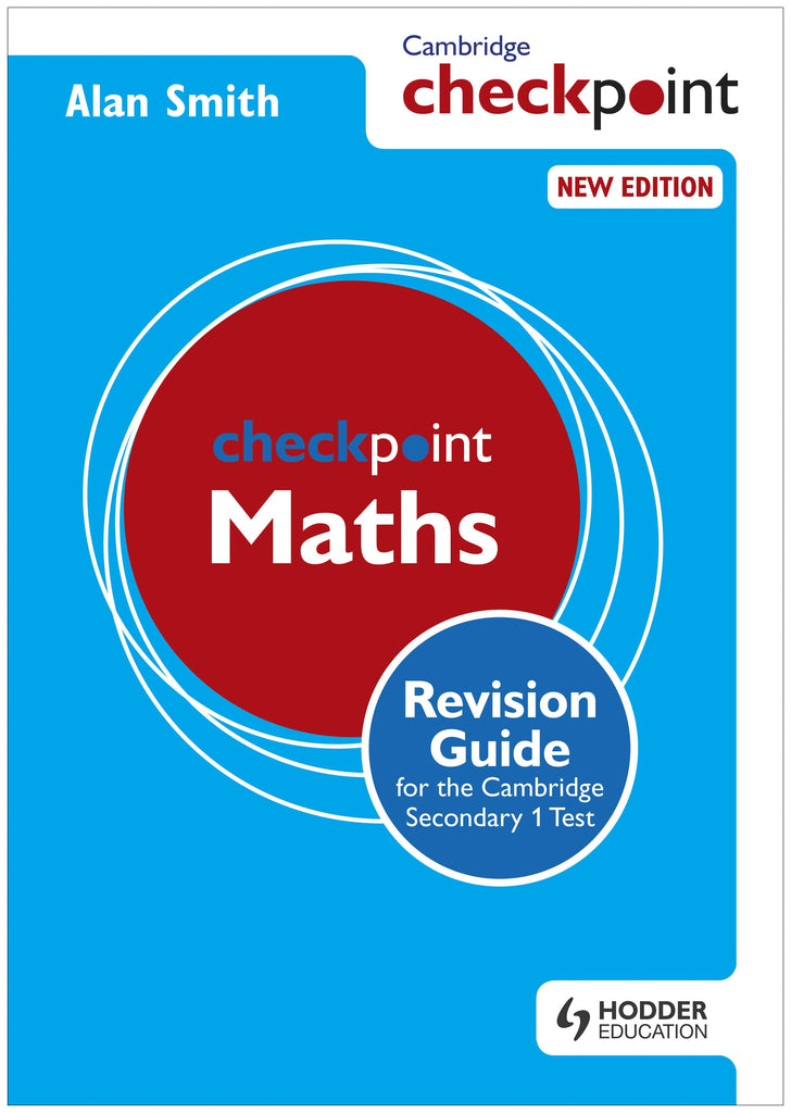 Cambridge Checkpoint Maths revision Guide