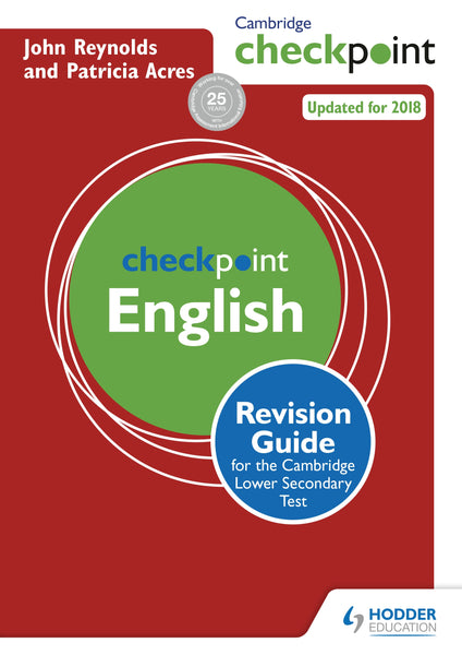 Cambridge Checkpoint English Revision Guide [Paperback]
