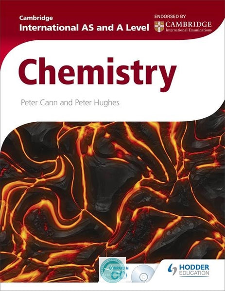 9781444181333, Cambridge International AS and A Level Chemistry Student Book