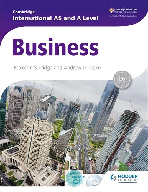 Cambridge International AS and A Level Business Studies Student Book (2014)