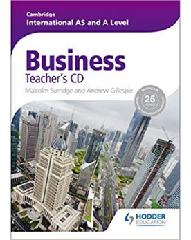 9781444181418, Cambridge International AS and A Level Business Studies Teacher CD Rom (New 2017)