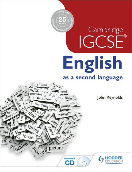 9781444191622, Cambridge IGCSE English as a second language + CD - CIE SOURCE