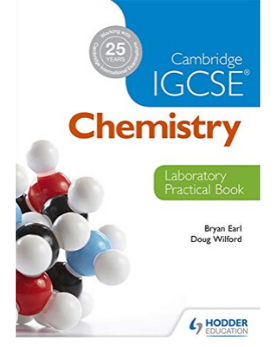 9781444192209, Cambridge IGCSE Chemistry Laboratory Practical Book