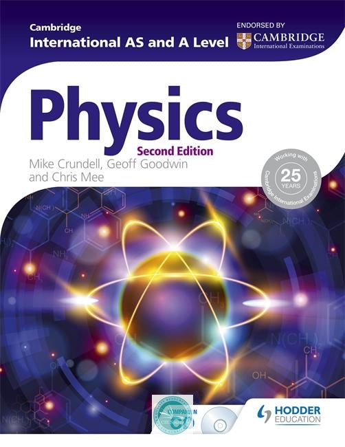 9781471809217, Cambridge International AS and A Level Physics Paperback 2nd edition