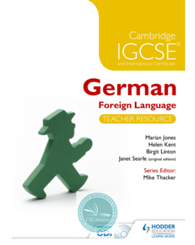 Cambridge IGCSE® German Foreign Language Teacher's Resource + Audio CD-ROMs - CIE SOURCE