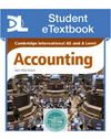9781471840463, Cambridge International AS and A Level Accounting Student eTextbook