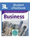 9781471840487, Cambridge International AS and A Level Business Student eTextbook