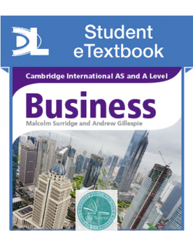 Cambridge International AS and A Level Business Student eTextbook