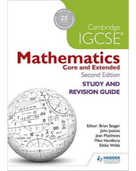 9781471856587, Cambridge IGCSE Mathematics Study and Revision Guide 2nd edition