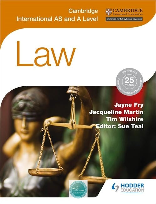 9781471866487, Cambridge International AS and A Level Law