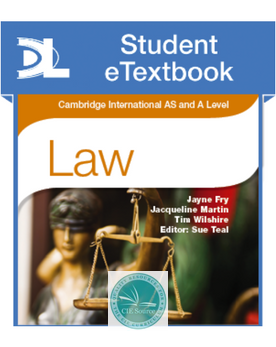 9781471866517, Cambridge International AS and A Level Law Student Etextbook
