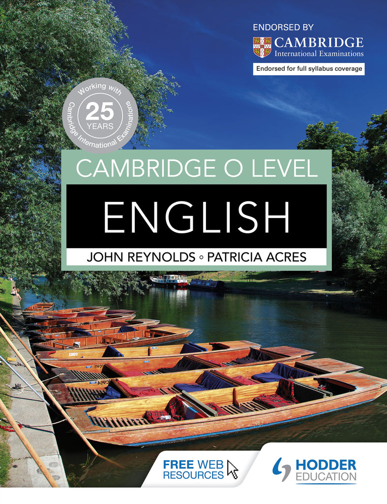 Cambridge O Level English