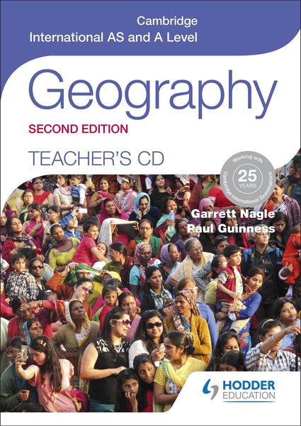 9781471873799, Cambridge International A and AS Level Geography Teachers Resource CD Rom