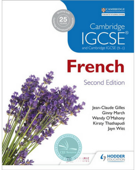 Cambridge IGCSE® French Student Book Second Edition