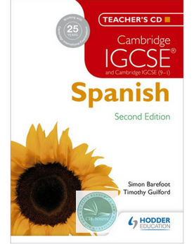 9781471890222, Cambridge IGCSE® Spanish Teacher's CD-ROM Second Edition