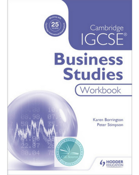 9781471894633, Cambridge IGCSE Business Studies Workbook