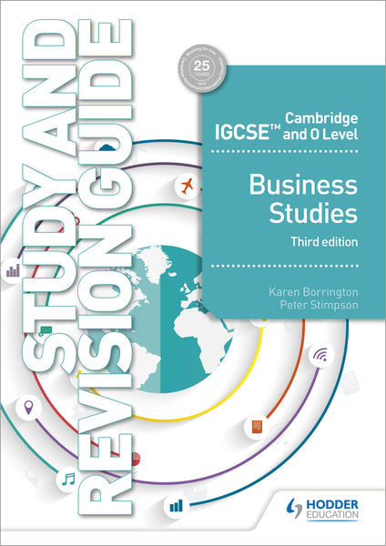 Cambridge IGCSE and O Level Business Studies Study and Revision Guide 3rd edition(Releases October 2018)