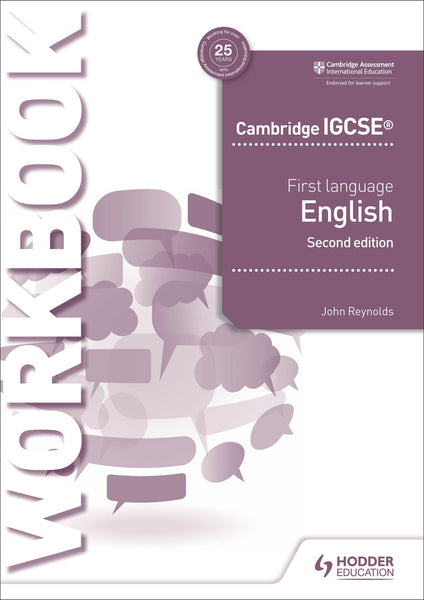 9781510421325, Cambridge IGCSE First Language English Workbook 2nd edition (New 2018)
