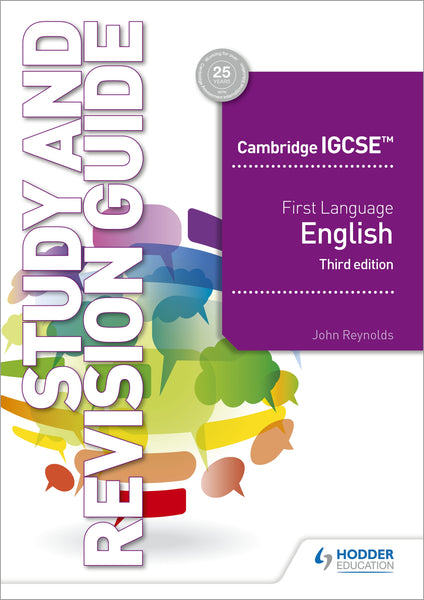 Cambridge IGCSE First Language English Study and Revision Guide 3rd edition (Releases September 2019)