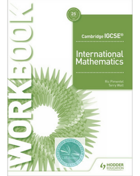 9781510421639, Cambridge IGCSE International Mathematics Workbook  (Not Published  4/30/2021) - CIE SOURCE