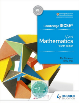 9781510421660, Cambridge IGCSE Core Mathematics 4th edition (New 2018)