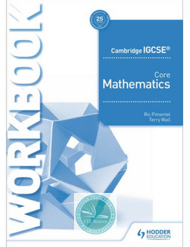 9781510421677, Cambridge IGCSE Core Mathematics Workbook(New 2018) - CIE SOURCE
