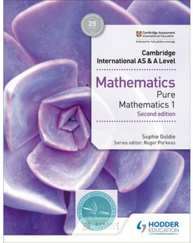 9781510421721, Cambridge International AS & A Level Mathematics Pure Mathematics 1 second edition (New 2018)
