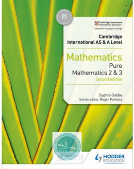 9781510421738, Cambridge International AS & A Level Mathematics Pure Mathematics 2 and 3 second edition (New 2018)