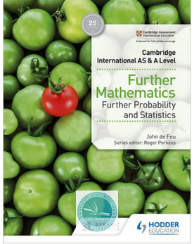 9781510421813, Cambridge International AS & A Level Further Mathematics Further Probability and Statistics(New 2018)