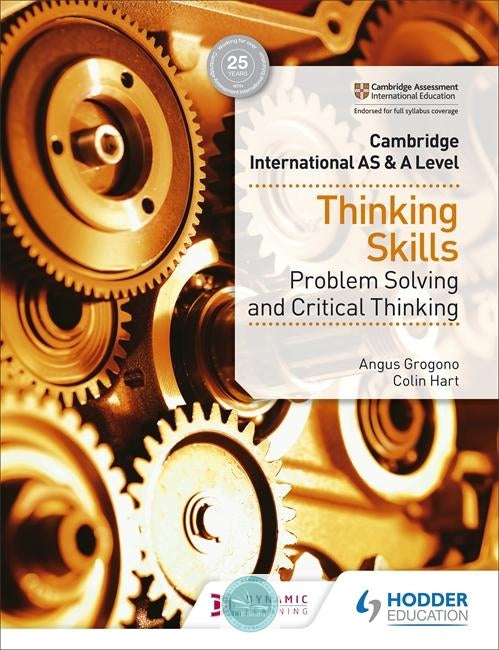 9781510421899, Cambridge International AS & A Level Thinking Skills (New 2018)