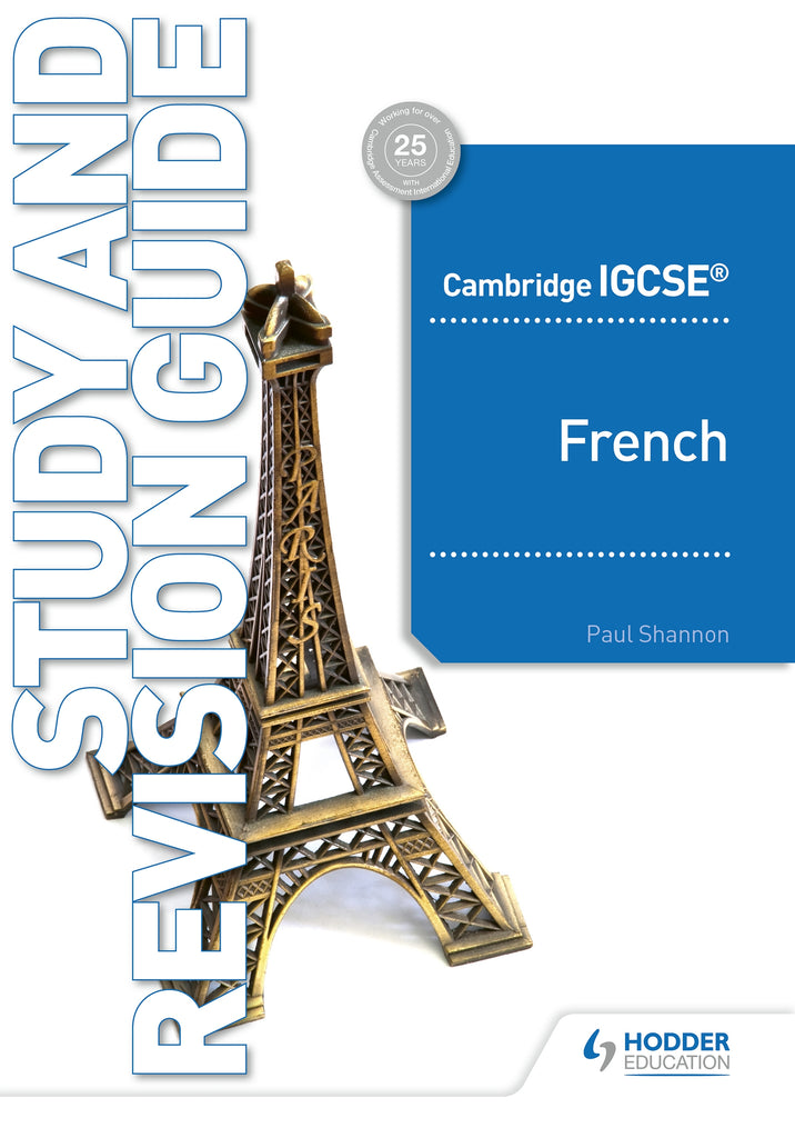 Cambridge IGCSE French Study and Revision Guide (0520/7156) (NYP Due October 2019)